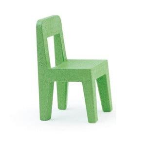 Zielone krzesło dziecięce Magis Seggiolina Pop