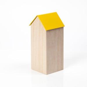 Żółte pudełko House Large