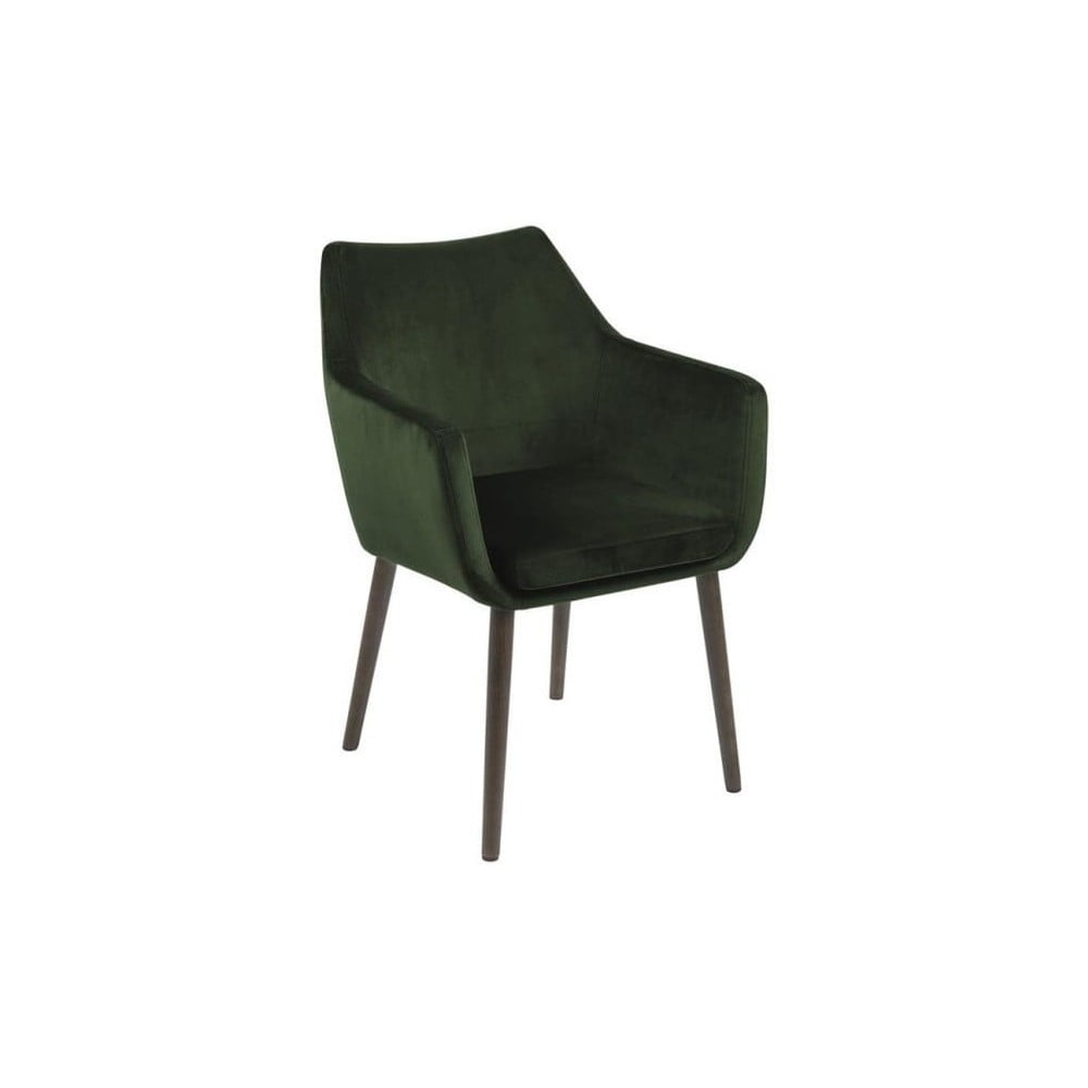 Zielone krzesło Actona Nora