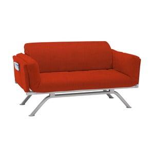 Czerwona sofa rozkładana 13Casa Kargo