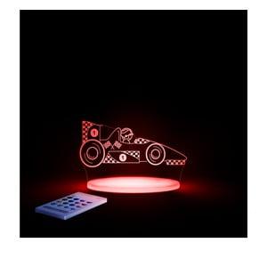 Dziecięca lampka nocna LED Samochód wyścigowy