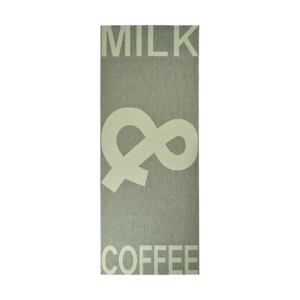 Dywan kuchenny Milk&Coffee 80x200 cm, szary