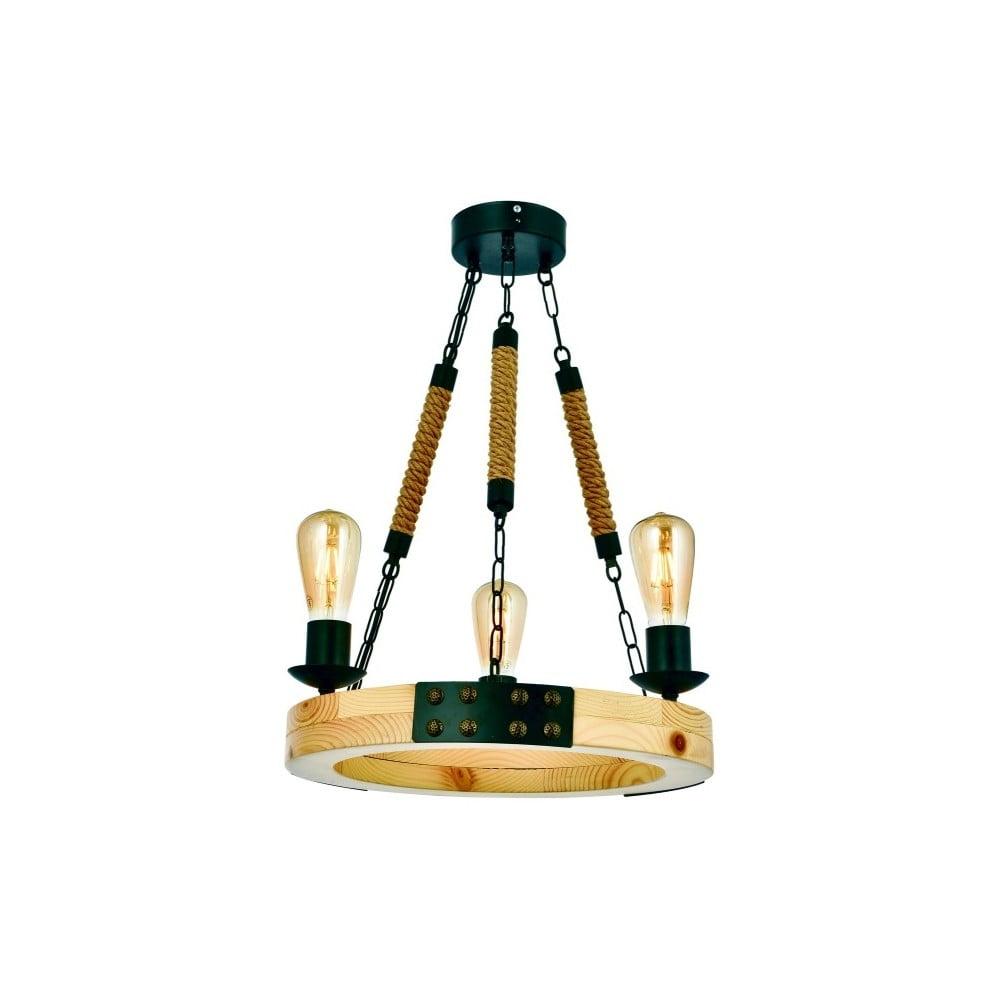 Lampa wisząca z drewna grabu Alara Natural