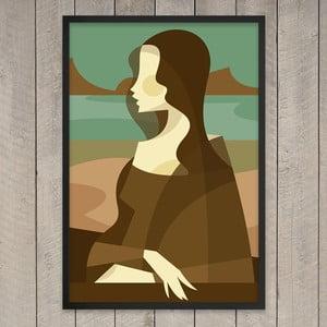 "Plakat ""Mona Lisa"", 29,7x42 cm"