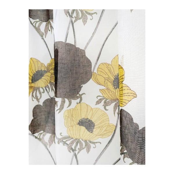 Zasłona Nappisilma Yellow, 140x240 cm