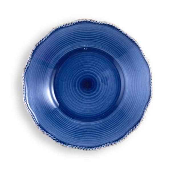 Mały niebieski talerz Brandani