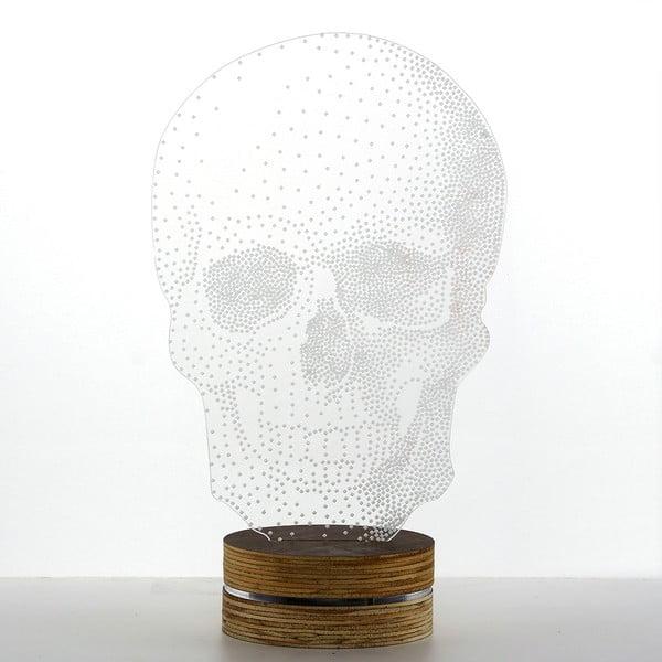 Lampa 3D stołowa Skull Classic