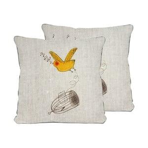 Poszewka na poduszkę z mikrowłókna Surdic Pollito, 45x45 cm