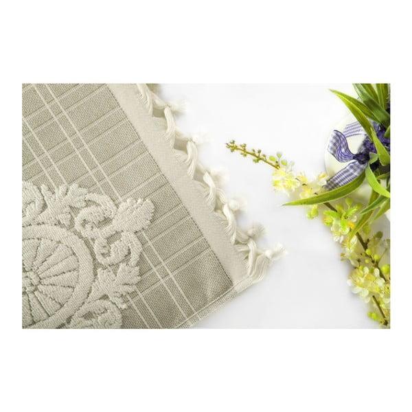 Zestaw 2 ręczników Eftelya Brown, 50x90 cm