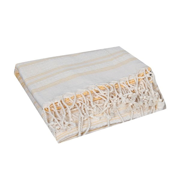 Fioletowy ręcznik hammam Artemis Purple, 90x190cm