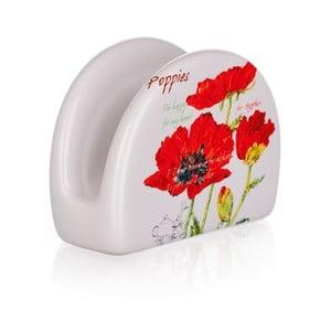 Stojak na serwetki Red Poppies