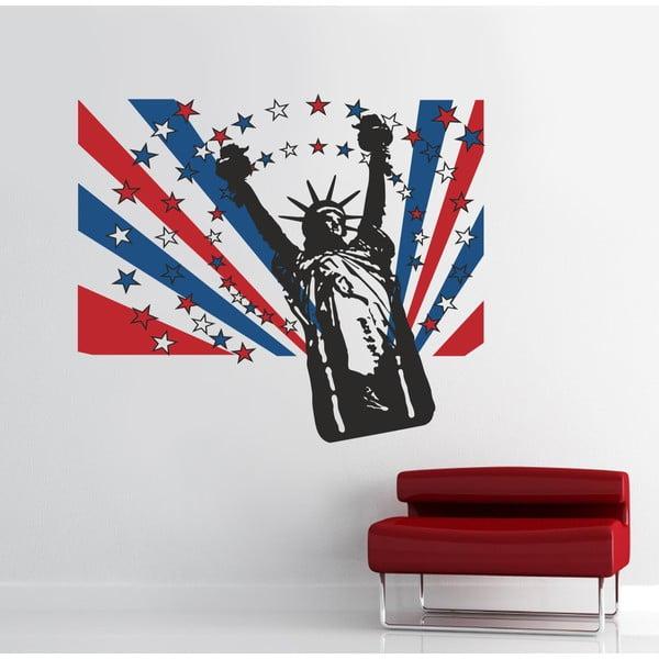 Naklejka na ścianę Statua Wolności, 90x120 cm