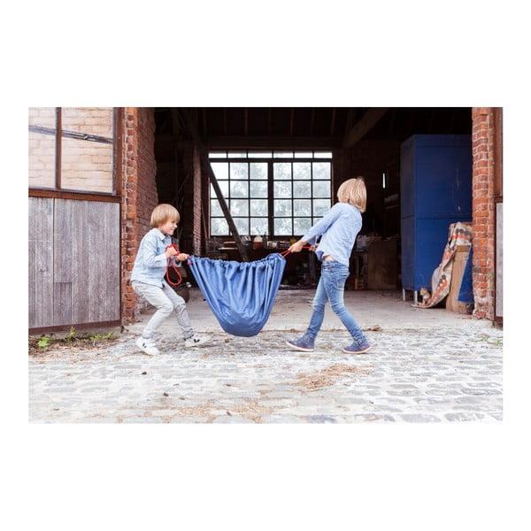 Mata do zabawy i worek na zabawki w jednym Play & Go Clasic Jeans