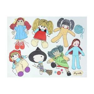 Naklejka dekoracyjna CousCous Dolls
