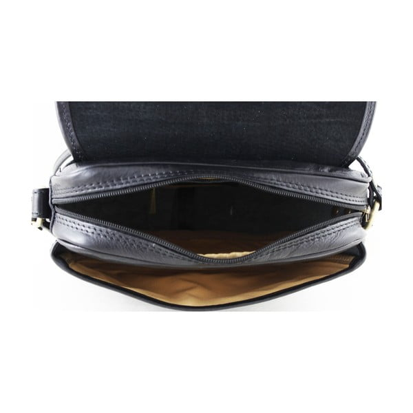 Skórzana torebka unisex Professional Nero