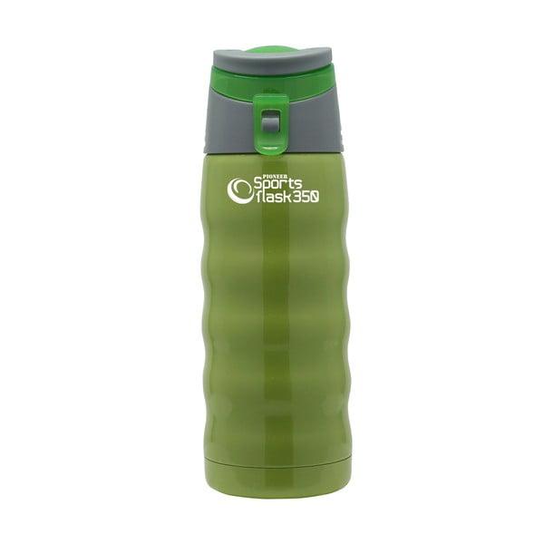 Butelka sportowa Pioneer Green, 0.35 l