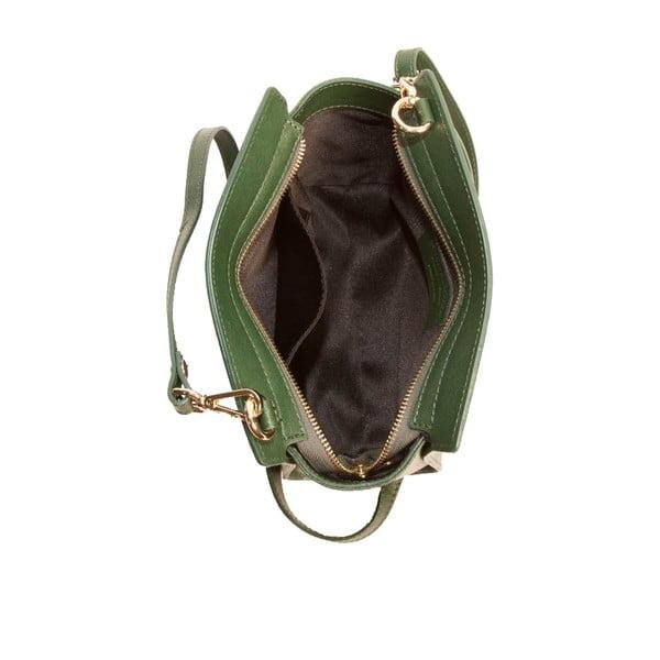 Zielona torebka skórzana Andrea Cardone Mattia