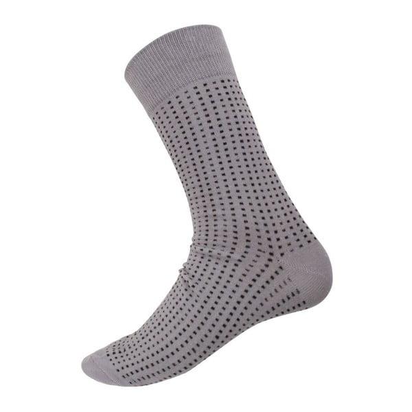 Skarpetki Mini Dots Grey, rozm. 40-44