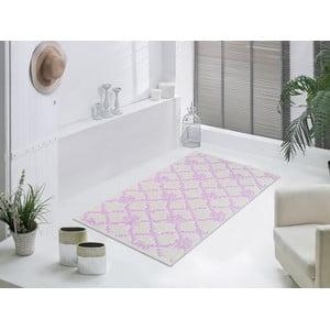 Liliowy wytrzymały dywan Scarlett, 80x150 cm