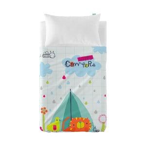 Narzuta i poszewka na poduszkę Baleno Happy Campers, 120x180 cm