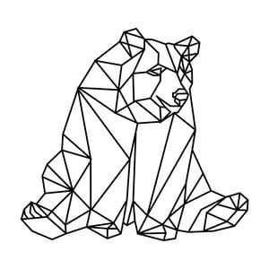 Naklejka Fanastick Origami Bear