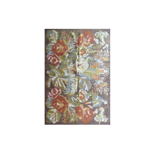 Ręcznie tkany dywan Kilim Flowers 166, 160x230 cm
