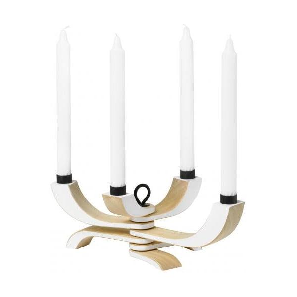 Regulowany świecznik Nordic Light White