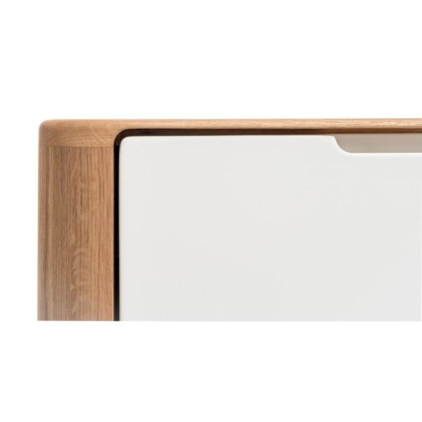 Szafka dębowa pod TV Gazzda Ena Two, 160x42x60 cm