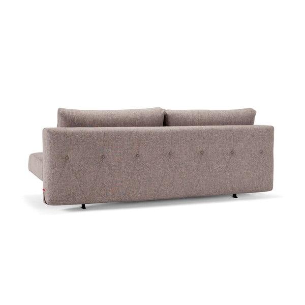 Szarobeżowa sofa rozkładana Innovation Recast