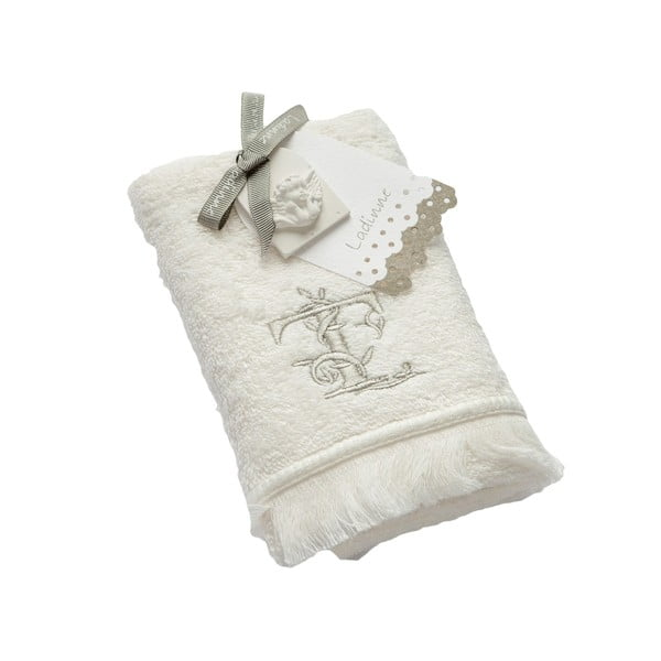 Ręcznik z inicjałem T, 30x50 cm
