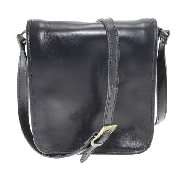 Czarna torba skórzana Norma