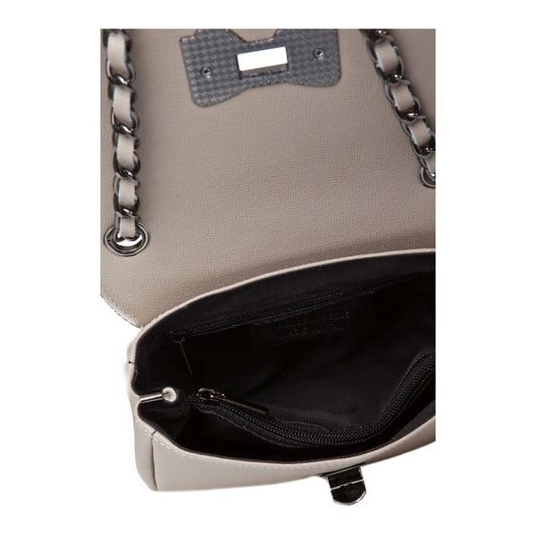 Skórzana torebka Bow Taupe