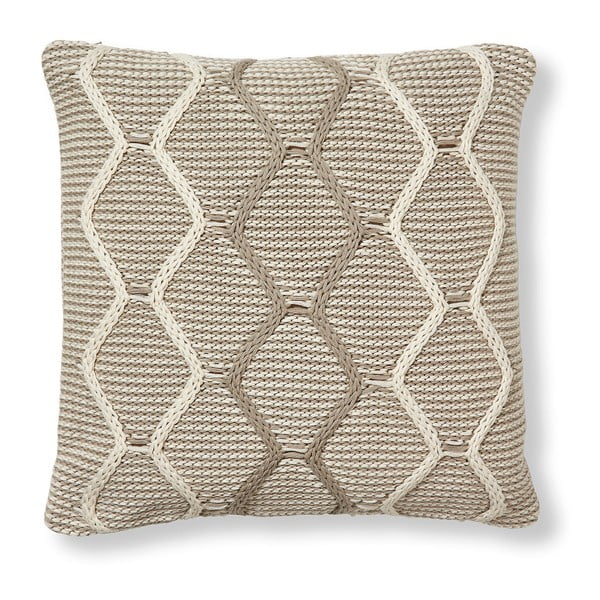 Beżowa poduszka La Forma Art 45x45 cm
