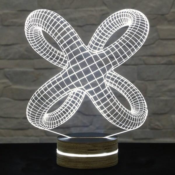 Lampa 3D stołowa Abstract III