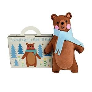 Zestaw do uszycia niedźwiadka Rex London Bruno the Bear