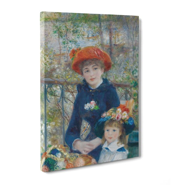 Obraz The Two Sisters - Pierre Auguste Renoir, 50x70 cm