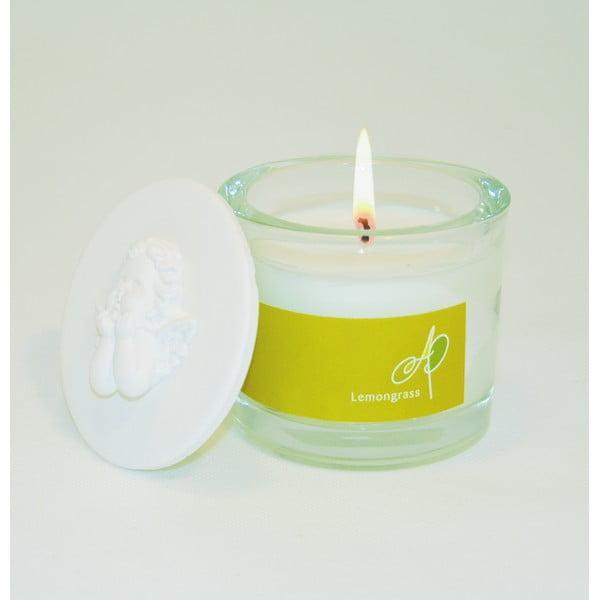 Aromatyczna świeczka THD Fragnances, trawa cytrynowa