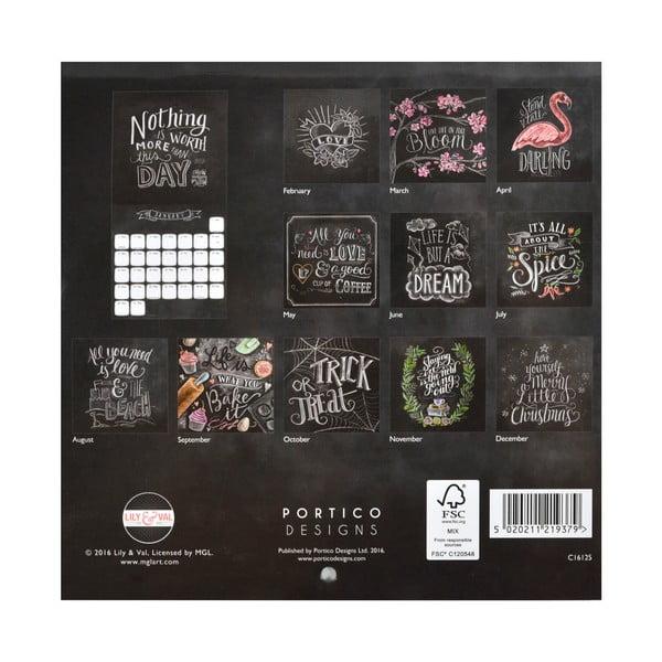 Kalendarz Portico Designs Lily & Val Mini