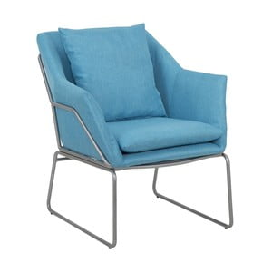 Niebieski fotel Mauro Ferretti Confort