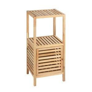 Drewniana szafka łazienkowa z drzwiczkami Wenko Norway