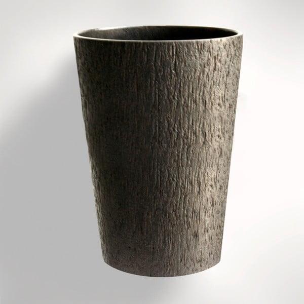 Palmowy wazon Dark, 34 cm