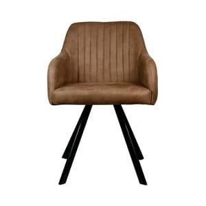 Brązowe krzesło LABEL51 Floor