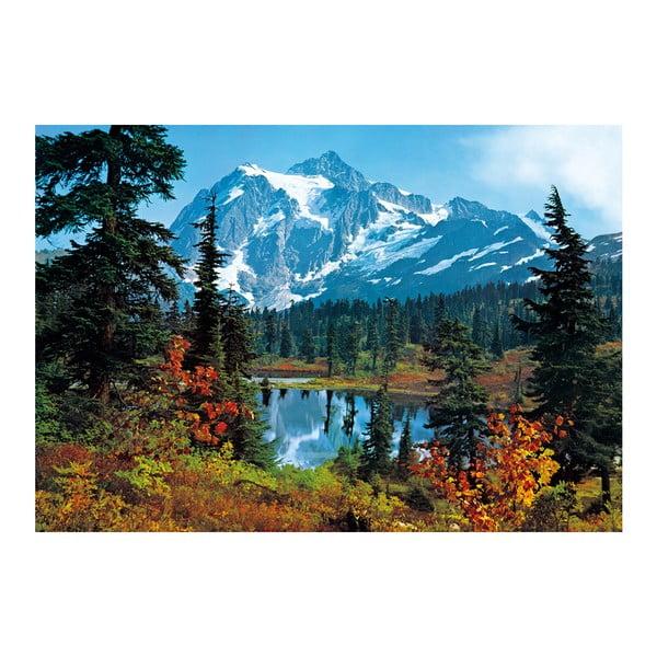Wielkoformatowa tapeta Poranek w górach, 366x254 cm