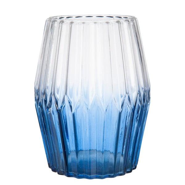 Wazon Glass in Dark Blue 15 cm