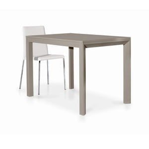 Beżowy drewniany stół rozkładany Castagnetti Avolo, 130cm