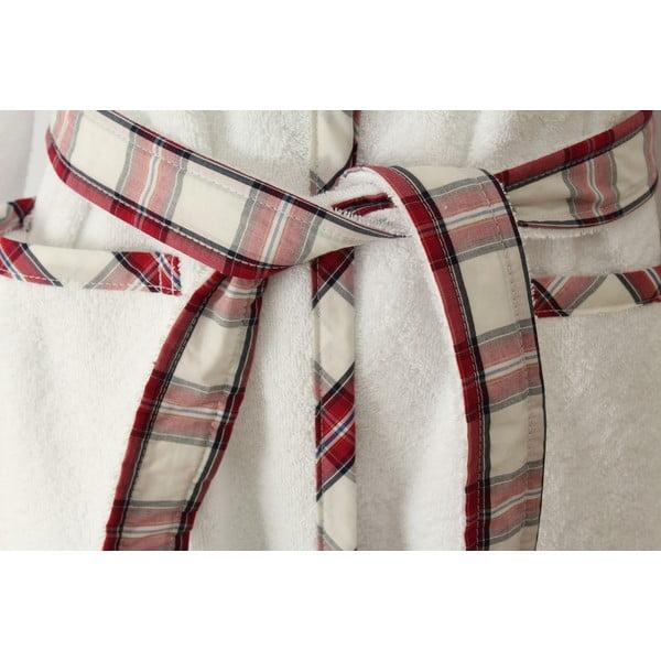 Biały szlafrok damski U.S. Polo Assn. Arcata, XL