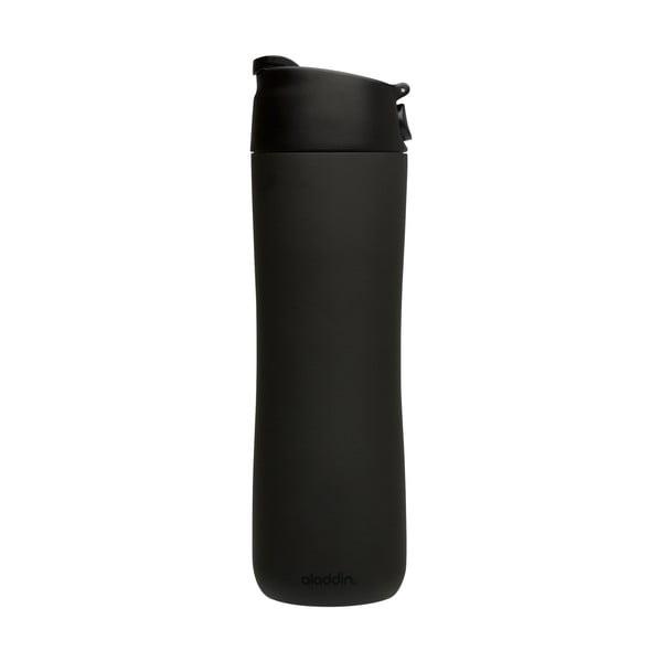Kubek termiczny Flip & Sip 470 ml, czarny