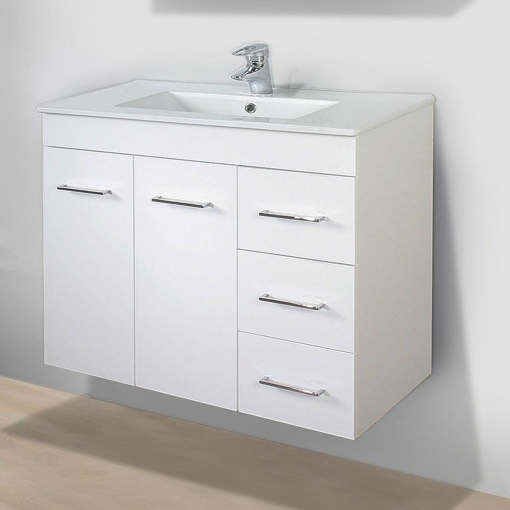 Szafka Do łazienki Z Umywalką I Lustrem Byron 80 Cm Bonami