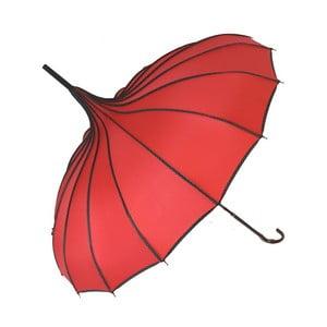 Czerwony parasol Soak Bebeig