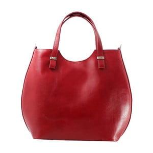 Czerwona torebka skórzana Denisse